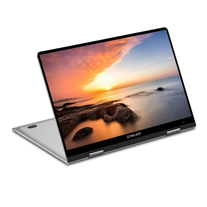 "Teclast F5 2 in 1 Touchscreen Laptop, 360° Convertible 11.6"" 1920x1080P FHD IPS Notebook 8GB RAM 256GB SSD ROM 10 Win"