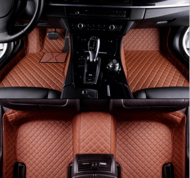 Custom de luxe pour les tapis de plancher de voiture Ford Ranger