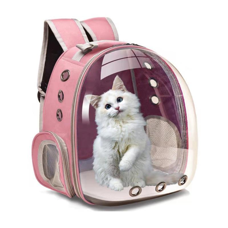 Saco da bolha da transportadora da mochila do gato, cão pequeno para cães, portadores de caminhada do animal de estimação do espaço, casas das caixas