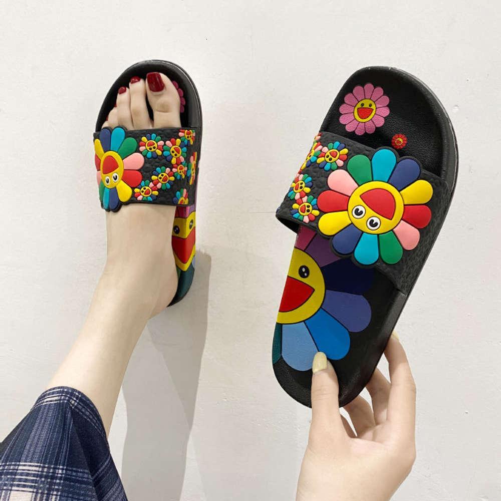 Chinelos de sandália para mulheres no outono inverno interior e banhos, casa skid moda, sandálias versáteis ao ar livre