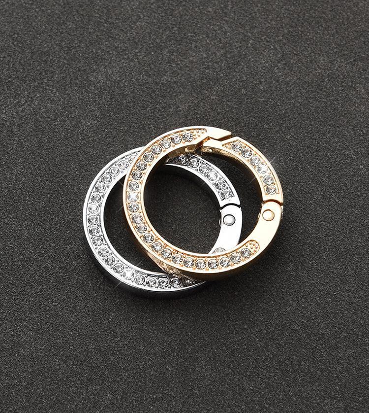 تصميم سيارة الماس المفاتيح تفضل الإبداعية مفتاح سلسلة الأزياء هدية