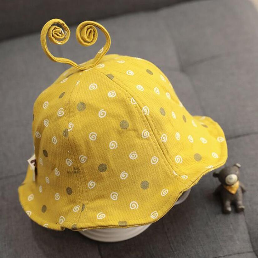 Bebê chapéu chapéu primavera e outono fino bebê chapéu infantil pescador chapéu menina bonito super cute princesa 1 ano de idade 2 primavera 47-51cm