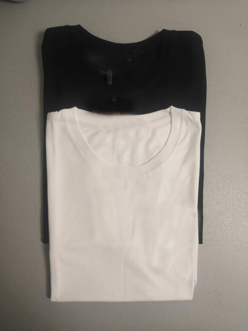 S-5XL 면화 남성 T 셔츠 플러스 사이즈 반 축소 여성 T- 셔츠 블랙 망 여성 패션 재미있는 면화 맨 T 셔츠 탑 반팔 셔츠