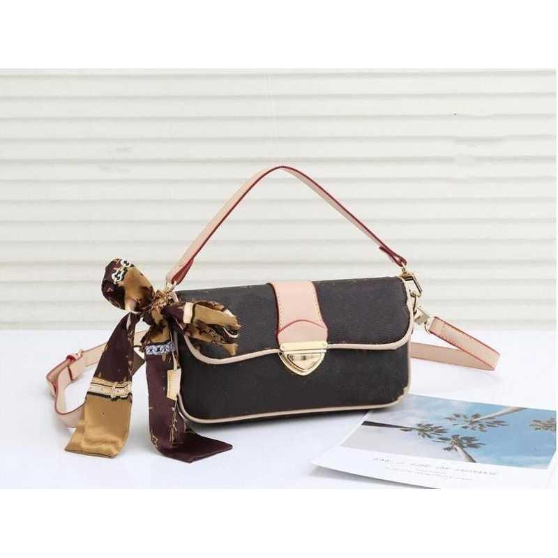 Band Retro Designer Handtaschen Messenger Leder Damen Luxus