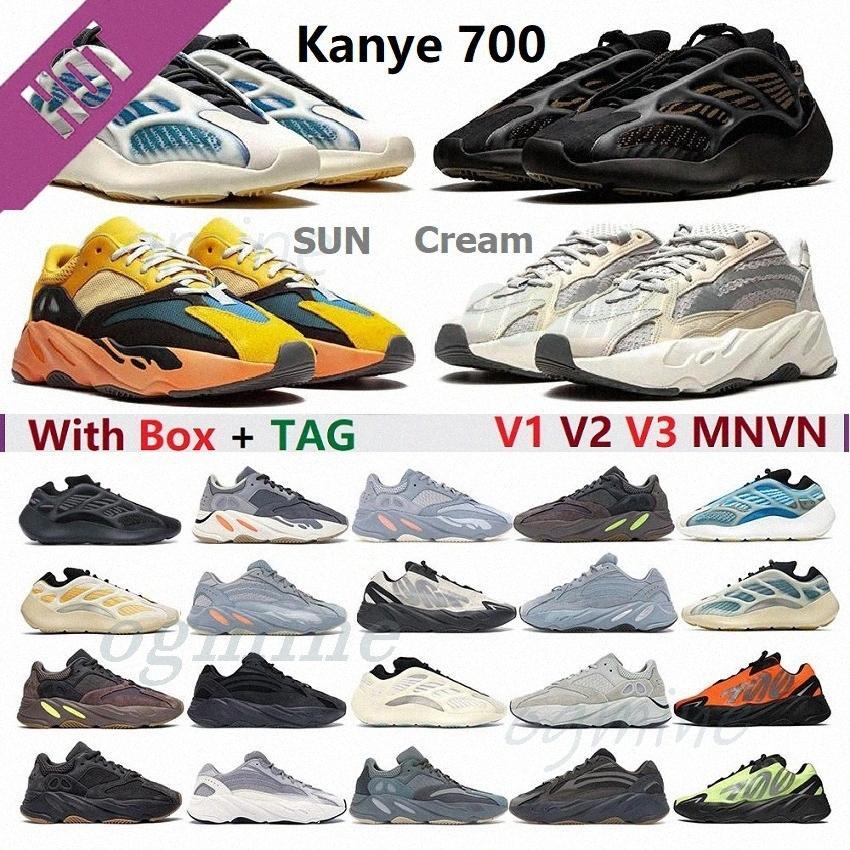 enfant boost Kanye ouest 500 dessert rat roming chaussures d'os utilitaire blanc pierre noire Vision douce Vision Sports Sneakers rougis Jaune Bottes