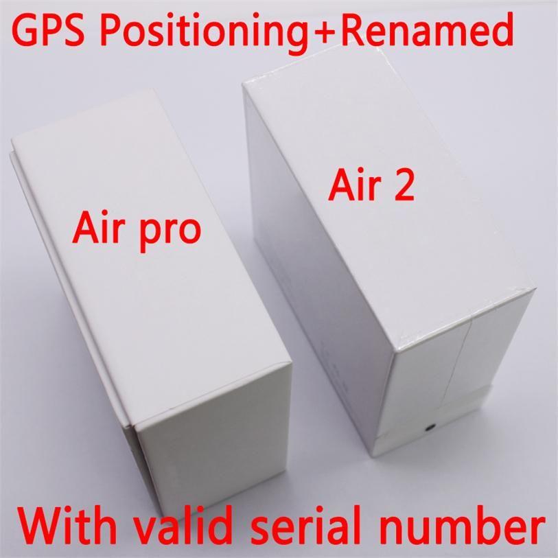 Hava Gen 3 AP3 H1 Çip Kablosuz Kulaklık Şarj Rename GPS Bluetooth Kulaklık PK Pods 2 AP Pro AP2 Geçerli Seri Numarası ile Xiaomi Koduomi