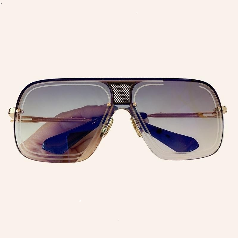 02 concepteur de lunettes de vue bon marché Sale Homme de haute qualité Square Wintag Sunglasses