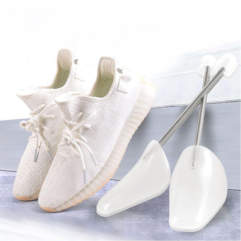البلاستيك قابل للتعديل الأحذية الرياضية أحذية عشوائي أبيض اثنين أحجام عالية الكعب نقالة الرجال والمرأة دعم الأحذية