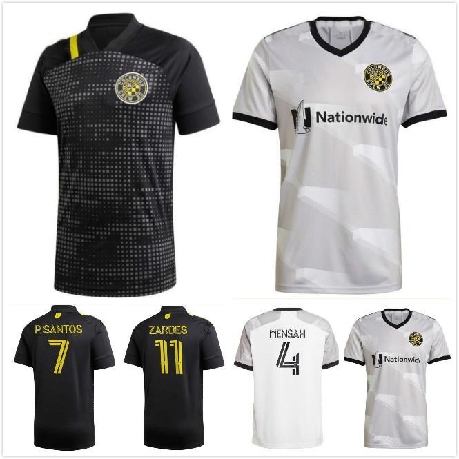 2021 2022 Columbus Futbol Formaları 21 22 Zardes Pedro Mensah Zelarayan Zardes R.Williams Santos Columbus Siyah Futbol Gömlek