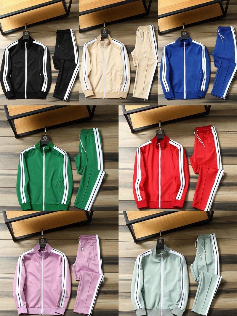 2021 Designer tracksuit Fashion Pants trend run Men Jacket Jogger Bodybuilding shopping Lady's wholesale clothes Active Climbing Solid color jogging Women's suit