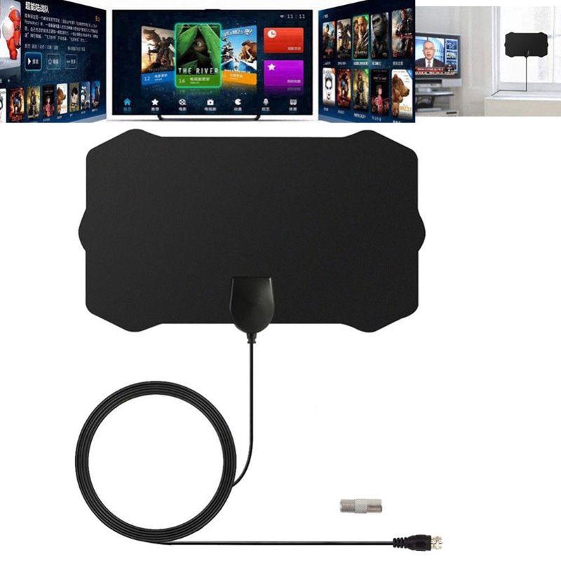 1080P داخلي التلفزيون الرقمي هوائي إشارة استقبال مكبر للصوت دائرة نصف قطرها تصفح أنطانة HDTV الهوائيات الهوائي البسيطة التبعي