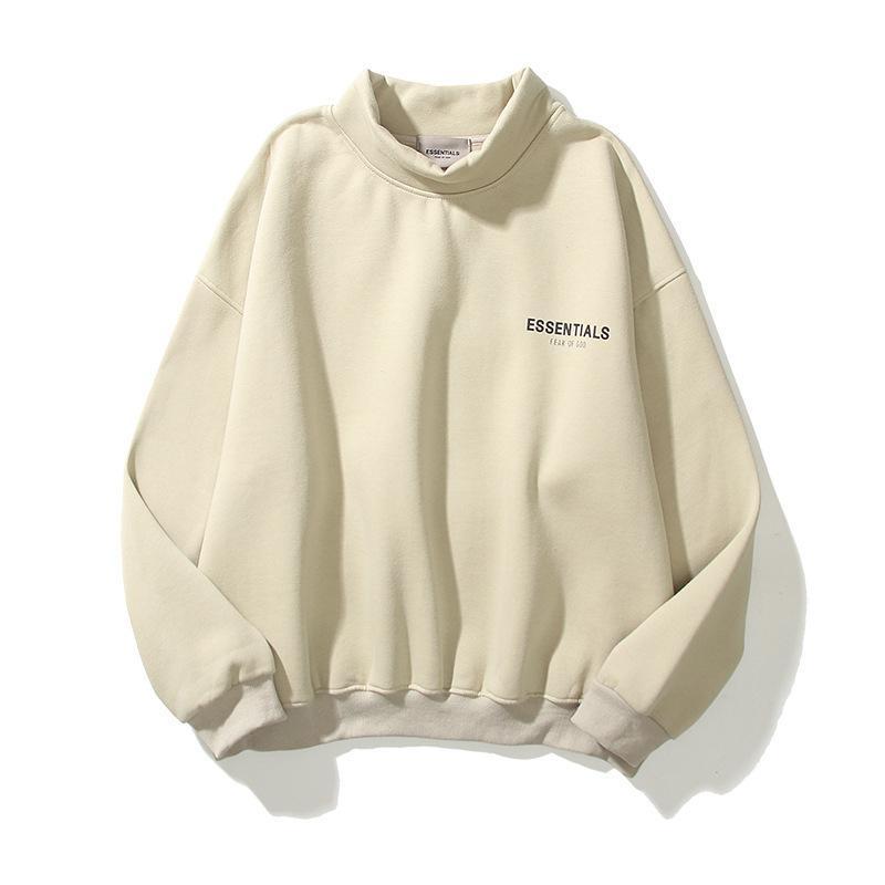 Peur de Dieu de luxe de luxe vêtements femme femme homme hoodie gymshark Travis Scott 2021 Essentials Sweats à capuche à capuche à capuche à capuche de réflexion Imprimer lettre