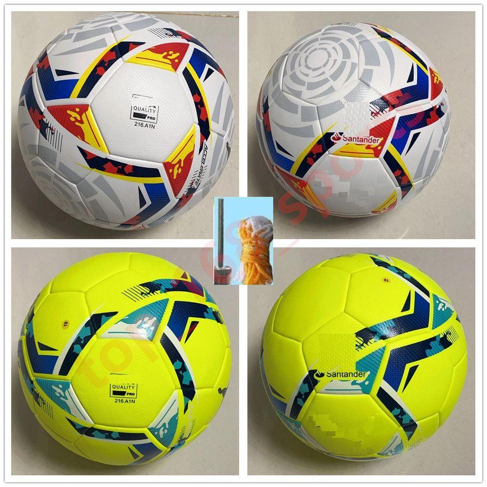 20 21 최고의 품질의 클럽 라 리가 리그 경기 축구 공 2021 크기 5 공과 과립 슬립 방지 축구
