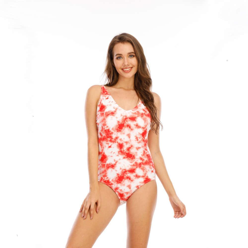 jkihnew one piece suspender swimsuit sexy deep V beach bikini women's swimming suit