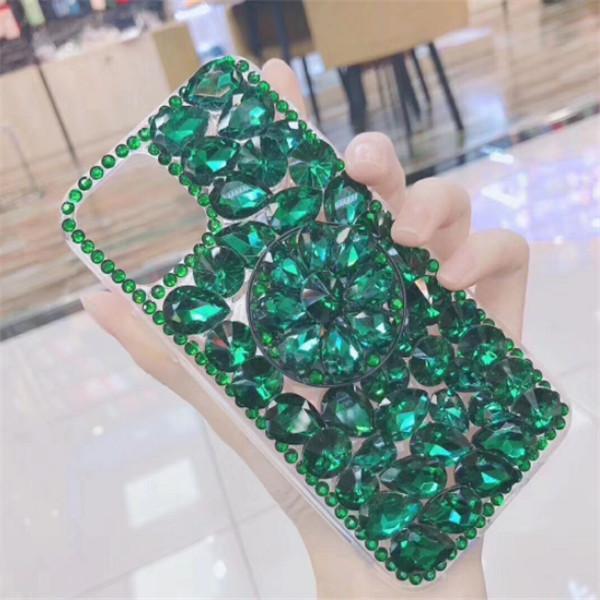 Bling Crystal Diamonds Rhinestone 3D Phone Custodia per cellulare per iPhone 11 Pro Max