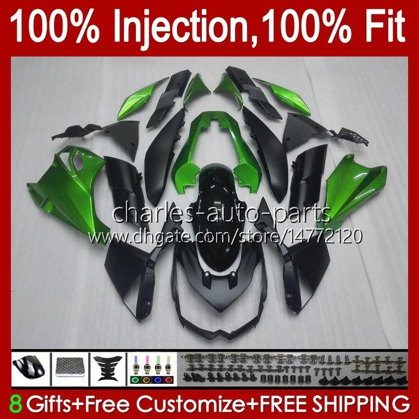 川崎忍者Z-1000 Z 1000 R 2010-2013年Z-1000R Z1000 10 11 12 13 Z1000R 2011 2012 2013 OEM BodyWork Factory Green
