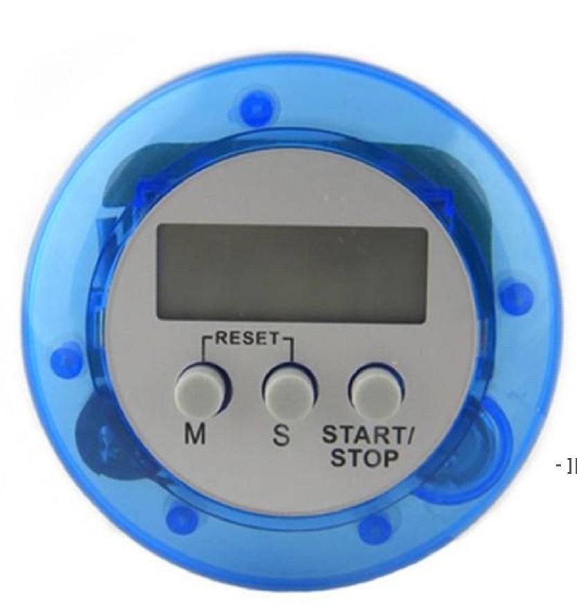 Nouveauté Digital Cuisine Minuterie Cuisine Helper Mini Digital LCD Cuisine Compte Down Clip Timer Alarm BWD6457