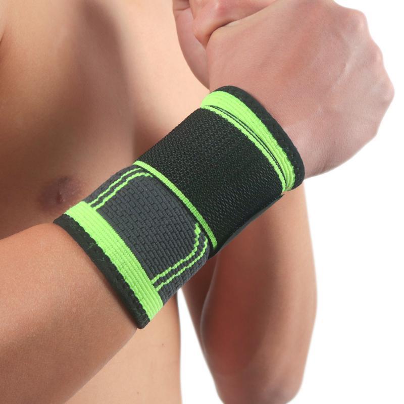 가압 피트니스 팔찌 CrossFit 체육관 PowerLifting 손목 지원 브레이스 슬리브 붕대 핸드 랩