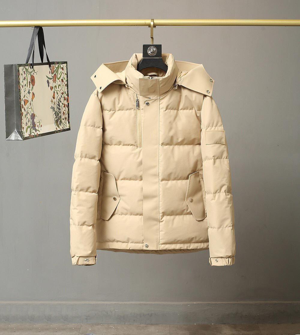 2021 Inverno para baixo jaqueta de alta qualidade de alta qualidade homens baiacados jaquetas com capuz grossos casacos homens homens casais parka winters casaco tamanho m-xxl bb1