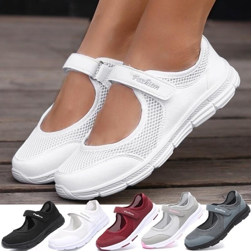 أزياء المرأة أحذية رياضية عارضة الأحذية النسائية شبكة 2020 الصيف الأحذية تنفس المدربين السيدات سلة فام تنيس feminino