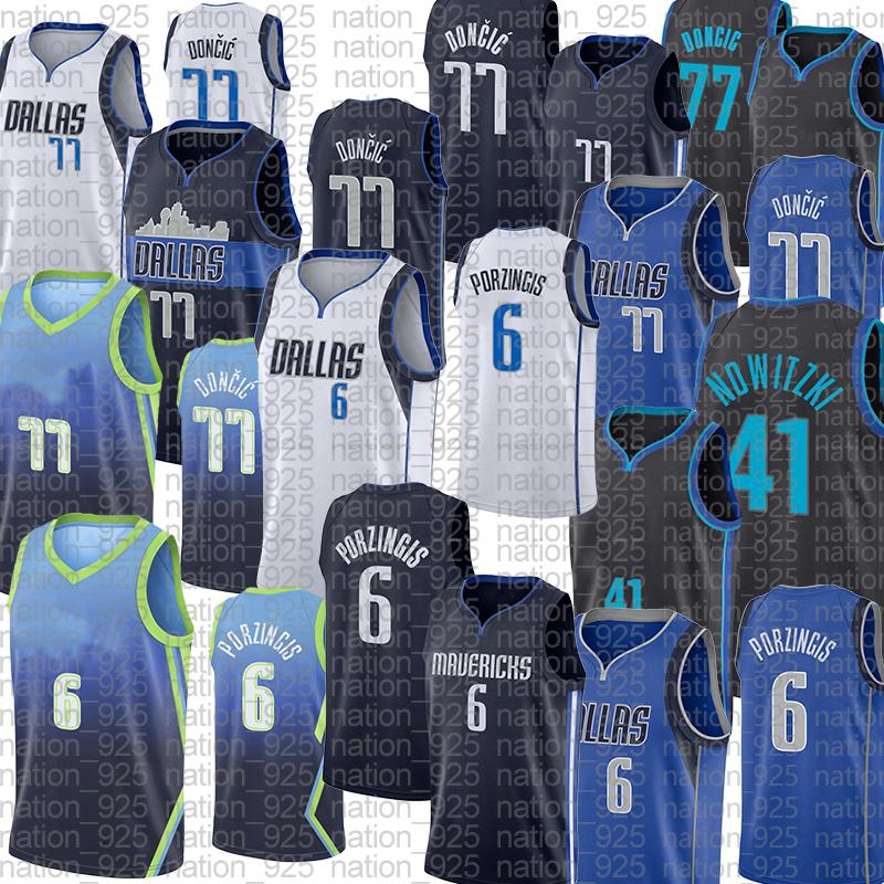 Basketball Jerseykristaps Porzingis Dirk Nowitzki Luka Doncic