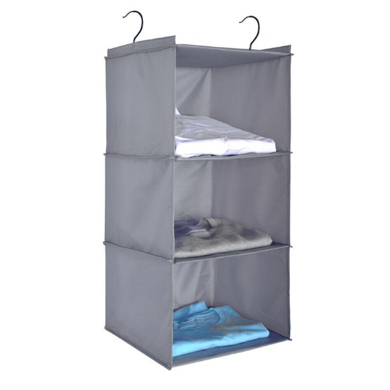 Tecido 6Scolatário PVC pendurado bolsa bolsa bolsa de guarda-roupa organizador organizador caixas caixas