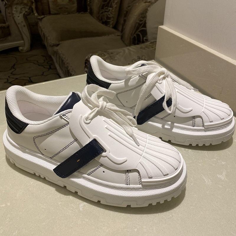 Fashion Top Calidad Cuero Zapatos Mujeres MULTICOLOR DE PRIGUIENTES MULTICOLOR Sneakers Técnicos Lujos Diseñadores Famoso zapatos Trainers Home011 04