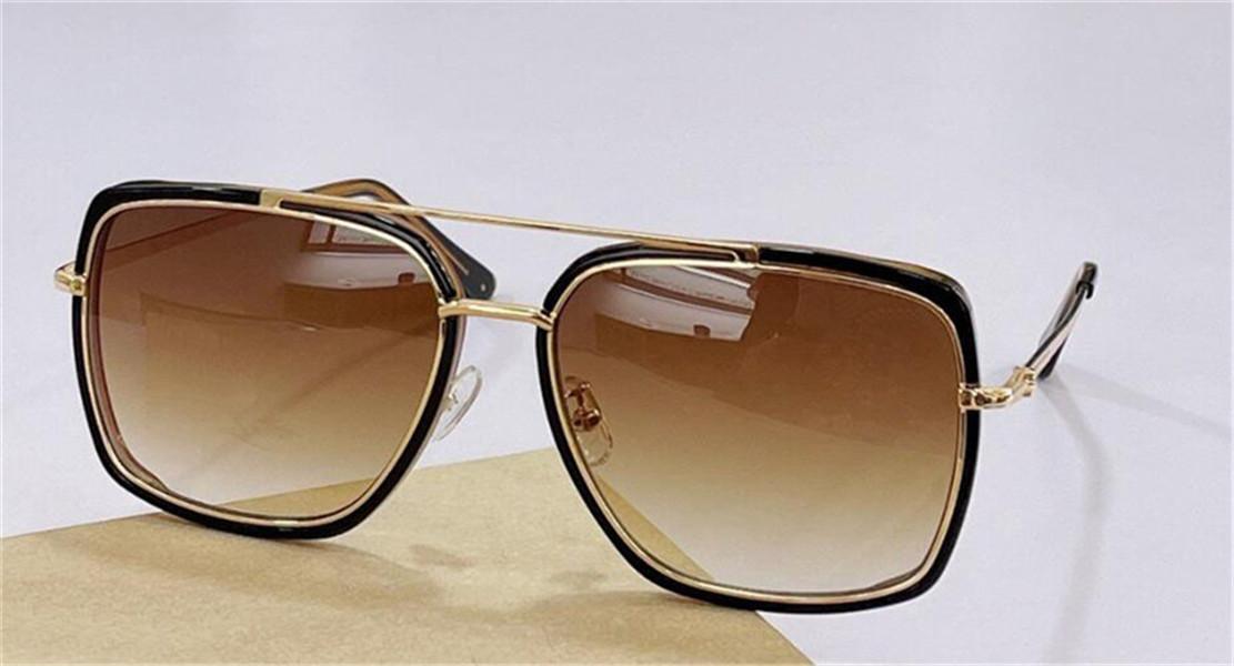 Occhiali da sole Design di moda 0750 Telaio quadrato Stile semplice e versatile Stile Classic UV400 Glasses Classic Protective Top Quality