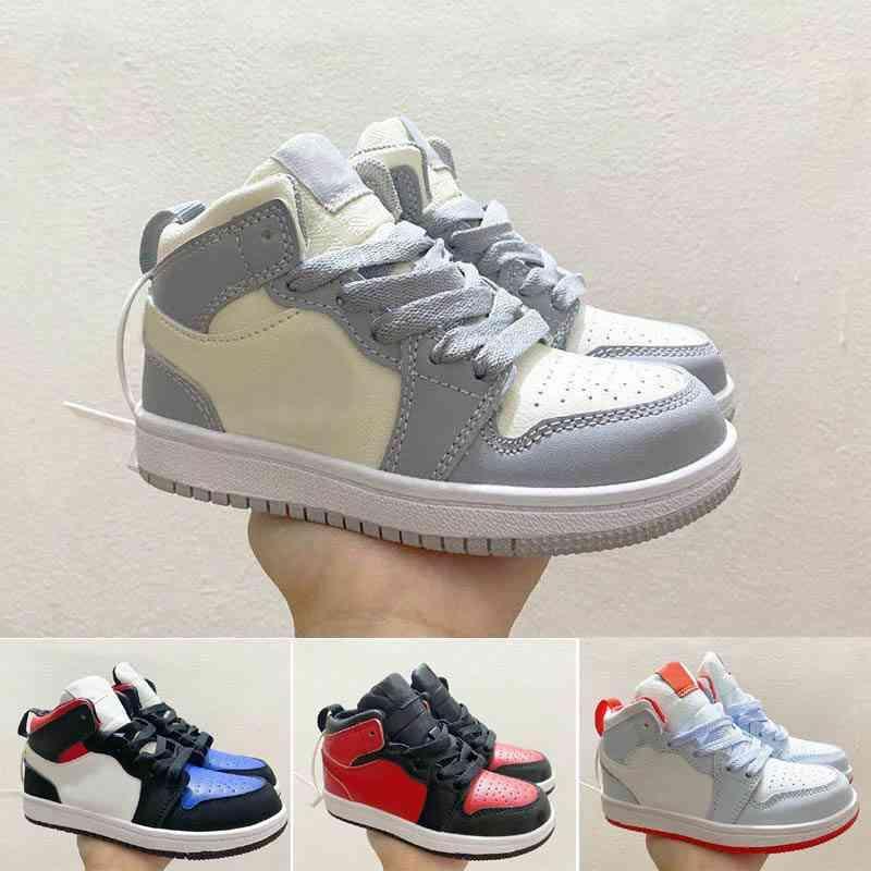 الكلاسيكية منتصف 1 أحذية الأطفال صبي فتاة الشباب كيد الرياضة أحذية رياضة حجم 28-35