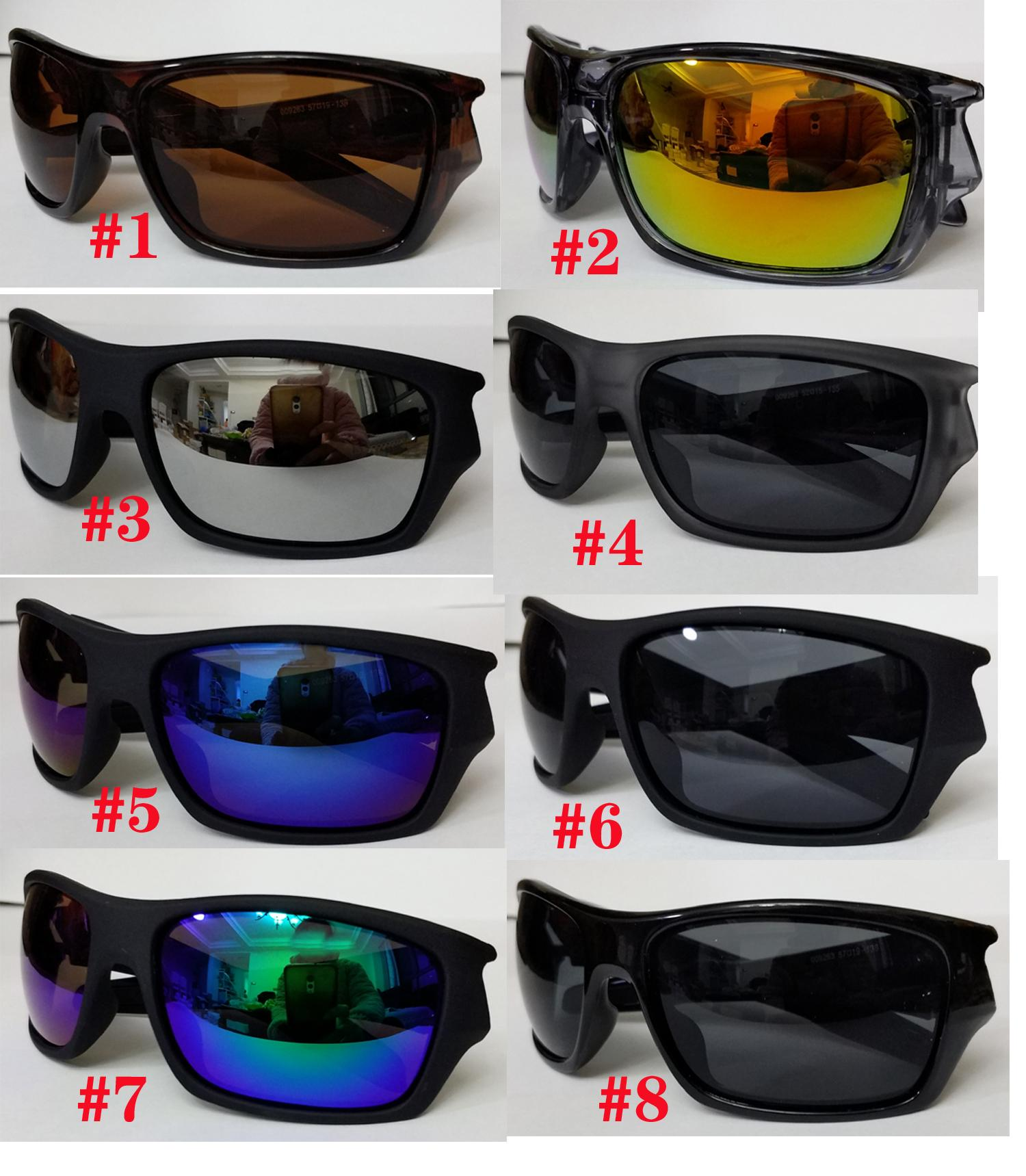summer man Wind sun glasse Bicycle Glass NICE woman sports sunglasses Dazzle colour driving glasses transparent grey black frame goggle 8colors