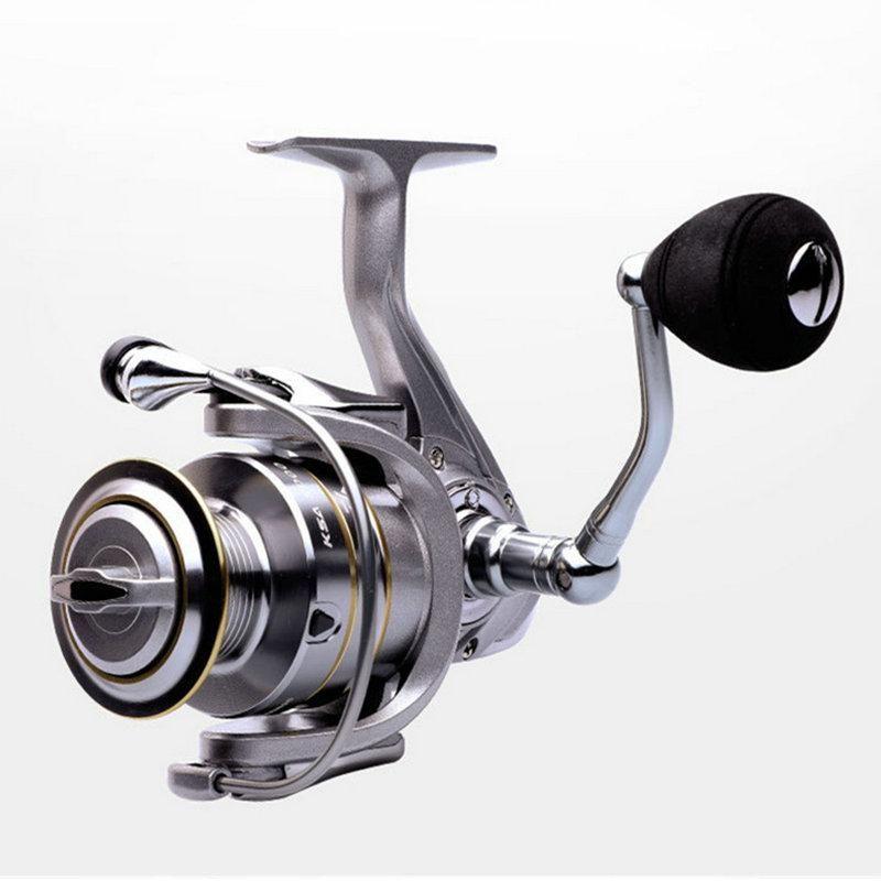 Baitcasting Reels de alta calidad 14 + 1BB Carrete de pesca doble de doble carrete 5.5: 1 Relación de engranajes Velocidad Spinning para agua salada YL-0043