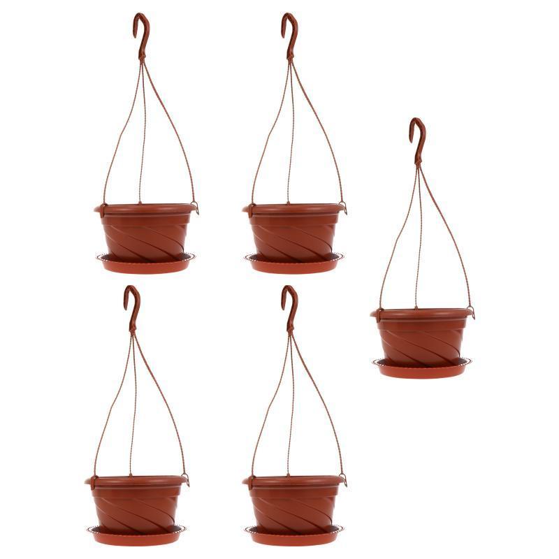Pantaloni POTS 5 Set Pianta impianto di casa in vaso di ravanello verde semplice