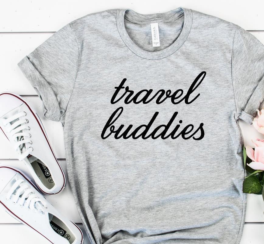 Womens T-shirts Reisende Buddies Frauen T-shirt Baumwolle Beiläufige lustige Hemd Dame Yong Mädchen Top T-Stück Höhere Qualität Drop Ship