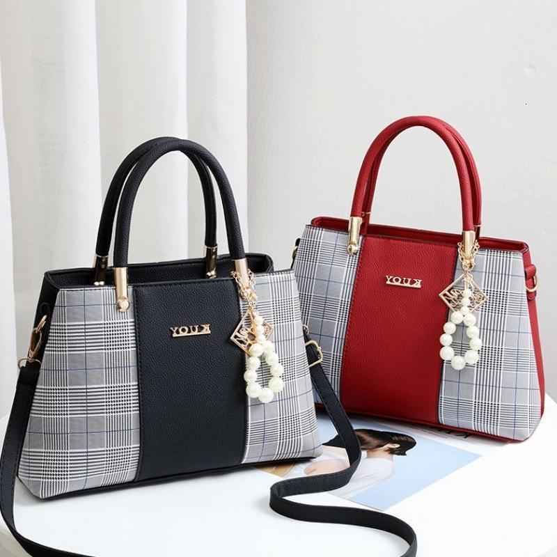 Vielseitige Tasche Nicht-Marke Textur Frauen Handtasche Freizeit Große koreanische Kapazität Messenger HBP Sport.0018 MBUIG