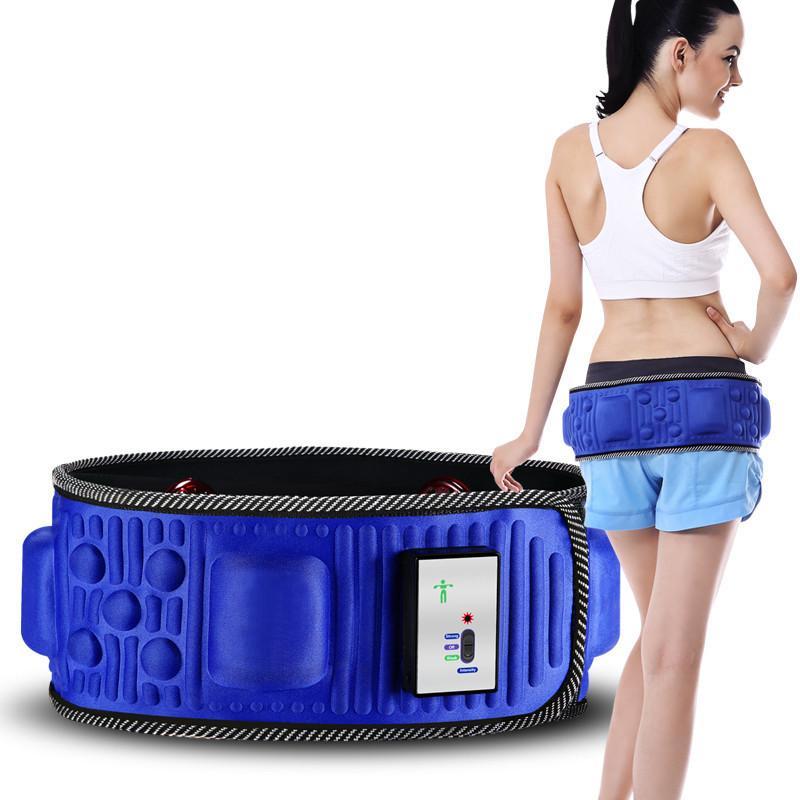 جودة عالية الجسم النحت حزام اللياقة براءة اختراع الحاصلة على شاشة الأشعة تحت الحمراء التخسيس الهزاز المغناطيسي العلاج آلة تدليك