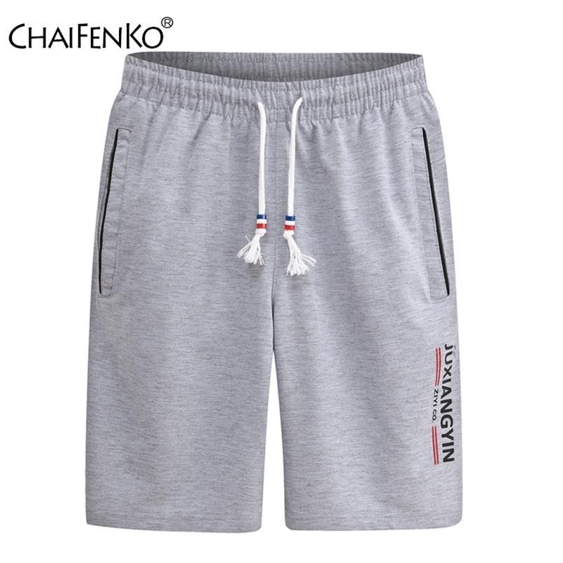 Hombres Summer Casual Shorts transpirable Correr Tallas grandes Boardshorts Moda Fitness Culturismo Deporte 6XL 210729