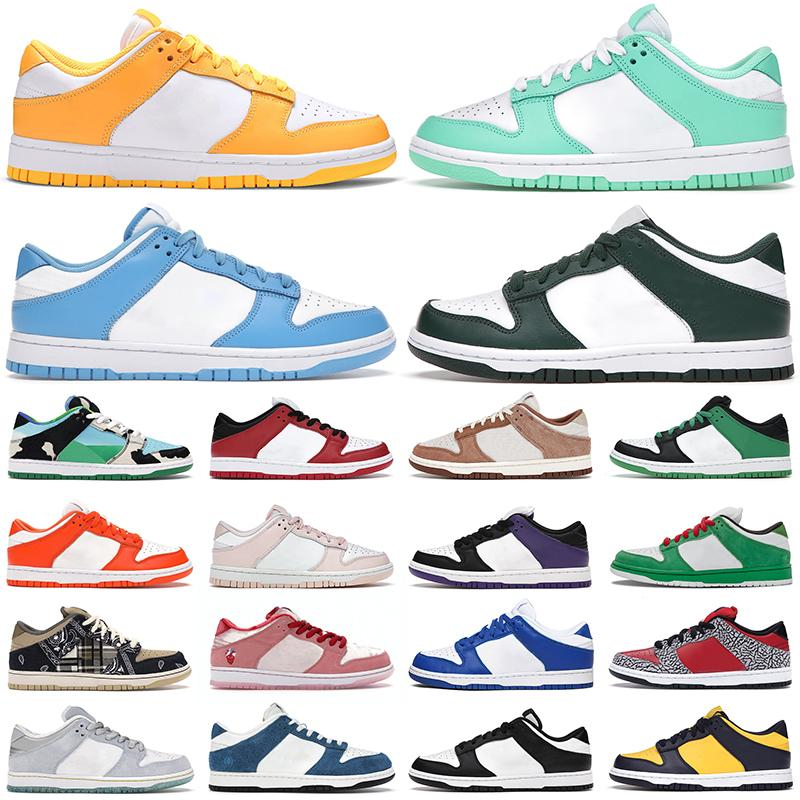 2021 men women casual shoes dunk Varsity Green Glow White Black Cherry Syracuse UNC Coast Candy dunks Orange Pearl mens sneakers Jogging Wal