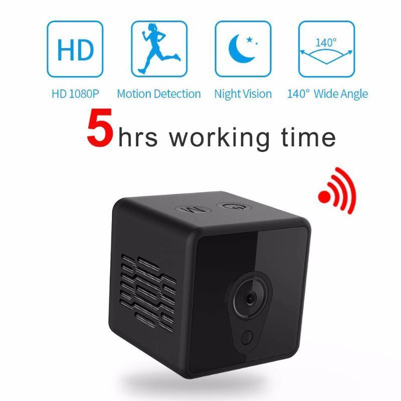 IINVISIBLE Gece Sürümü WIFI IP Mini Kamera Kablosuz 1080 P Video Kayıt Desteği için Uzaktan Kumanda Taşınabilir Gizli Kaydedici Kameralar