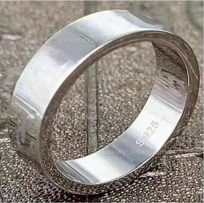 2021 gioielli uomini / donne moda anello di lusso anello d'oro coppia S925 alto contenitore regalo lucido A206