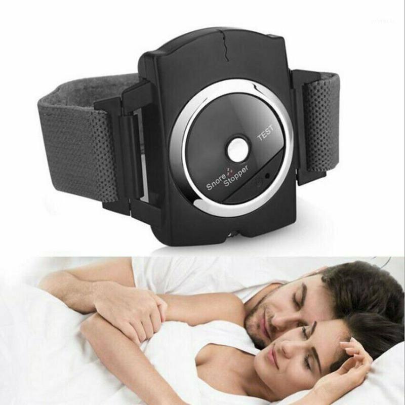 Pulseiras inteligentes anti-ronco pulseira pulseira pulseira ronco conexão de sono ajuda apnea protetor parar de roncar o pulso anti dispositivo1