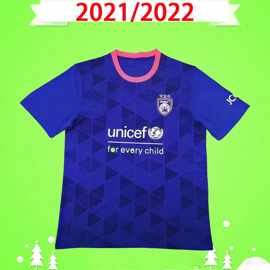 Fan versione 2021 2022 Johorsoutherntigers Soccer Jersey SAFIQ Lelledro Mauricio Safawi.R 21 22 Johor Darul Ta'zim Casa Away Tway Football Shirts Top Quality