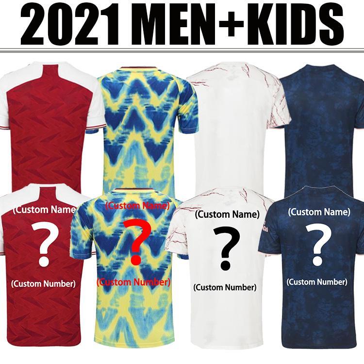 Arsen Soccer Jersey 21 22 Odegaard Pepe Saka Nicolas Tierney Henry Willian Maitland Niles 2021 2022 Away Away Camicia calcio Camicia uomo Kit Kit
