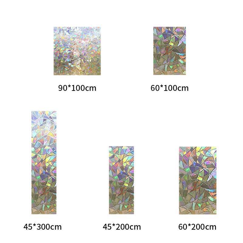 Декоративное окно конфиденциальность пленки витражи стекла, окна самоклеящиеся статические наклейки