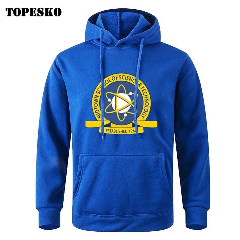Topesko Movie Homecoming Fleece Sweats à capuche Pure Pierre Tom Hollande Cosplay Sweat-shirt Unisexe Tops 210728