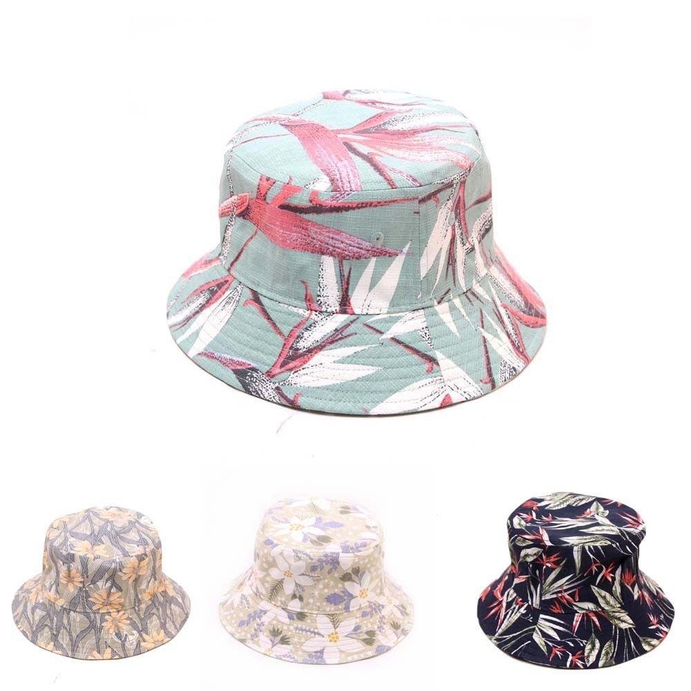 Фабрика оптом новый универсальный женский цветочный рыбак шляпа