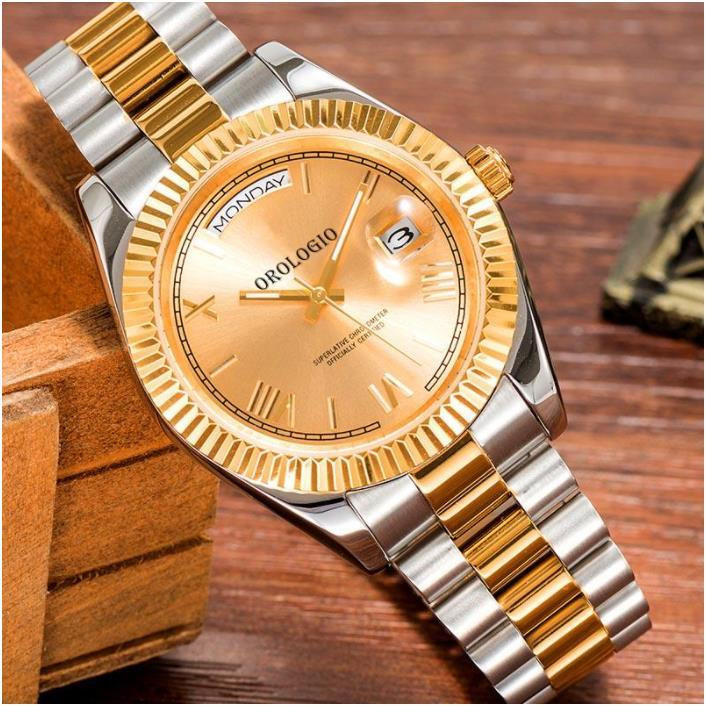 Montre de Luxe Mens Часы 41 мм Автоматическое движение Полная нержавеющая сталь Часы 2813 Механические наручные часы Водонепроницаемый светящийся U1 завод