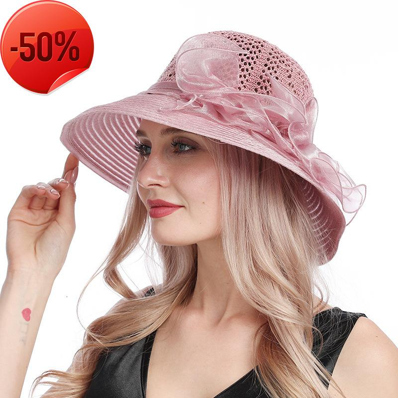 New lace mesh basin hat in spring and summer 2020