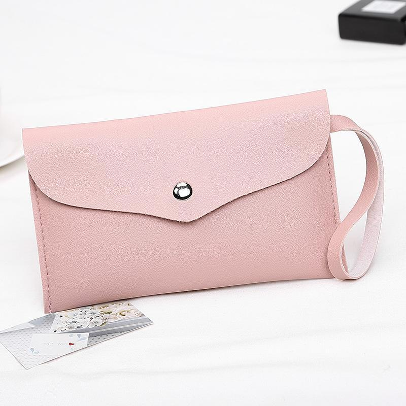 Eyebrow Tools & Stencils High Quality Women Makeup Casual Chest Wallet Brand Cell Phone Big Card Holders Purse Clutch Pu Leather Cross Body