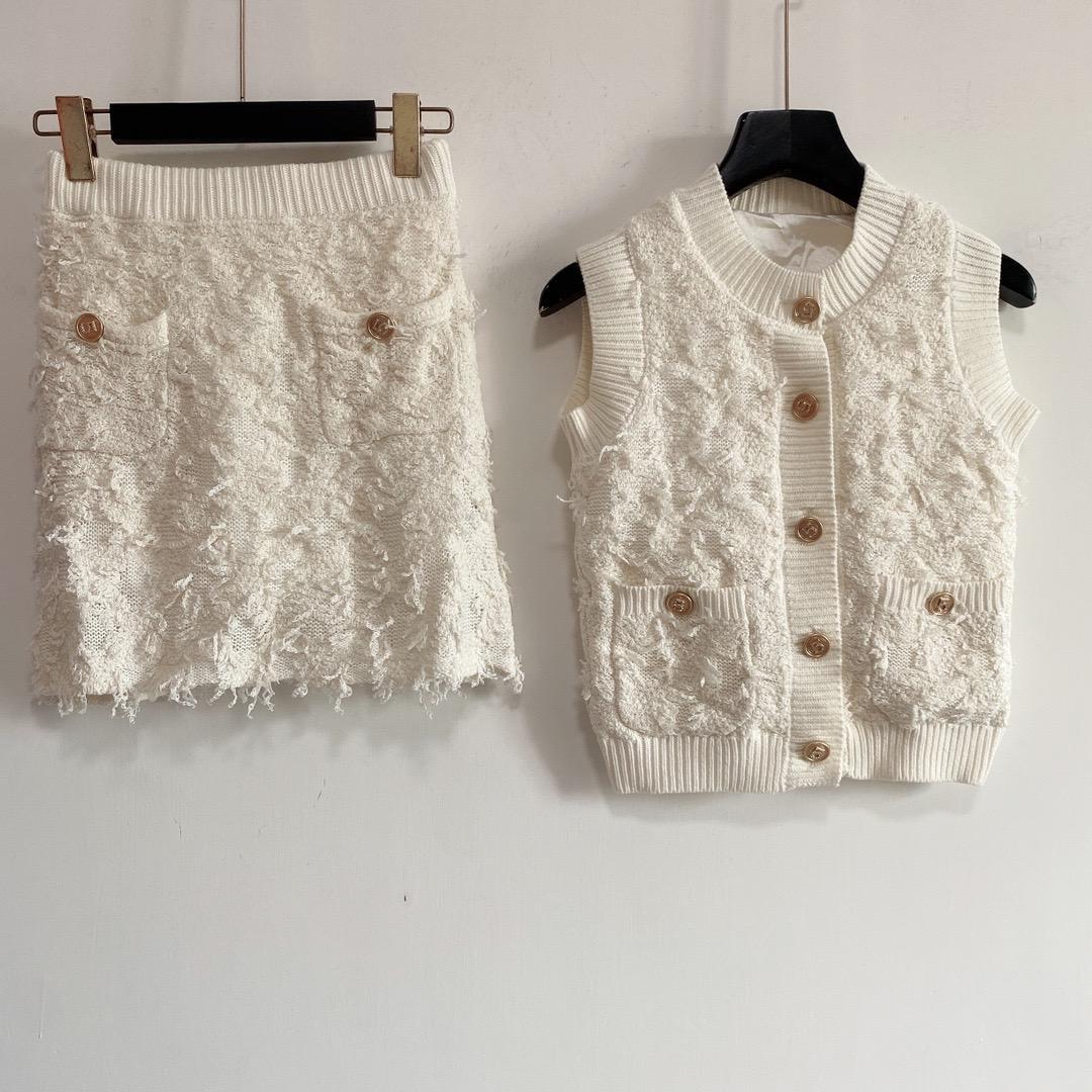 2021 O Boyun Kolsuz Ceket ve Bayan Moda Baskı Için Iki Parçalı Elbise 2 Parça Setleri 0526-22