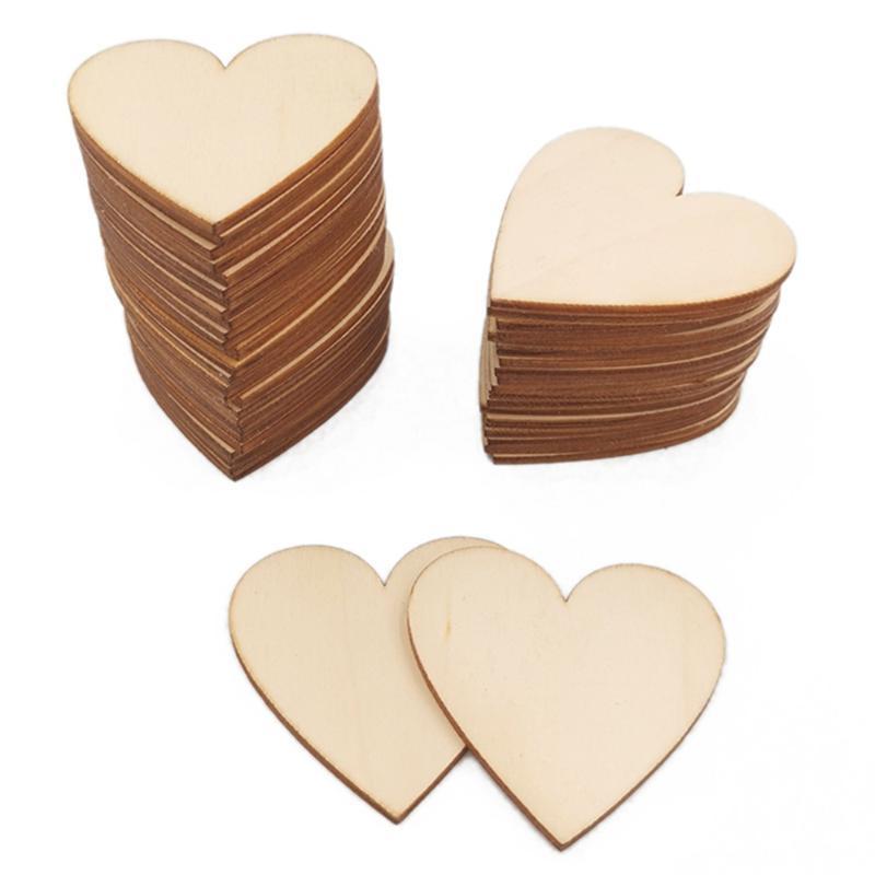 10- 300mm em branco inacabado coração de madeira artesanato suprimentos laser madeira decoração de casamento ensinando diy acessórios 001001065 festa